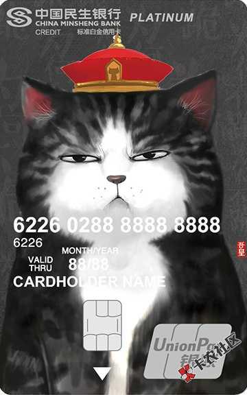 全世界收没有民生信用卡的人!是人就行!秒过初审!秒...90 / 作者:卡农110 /