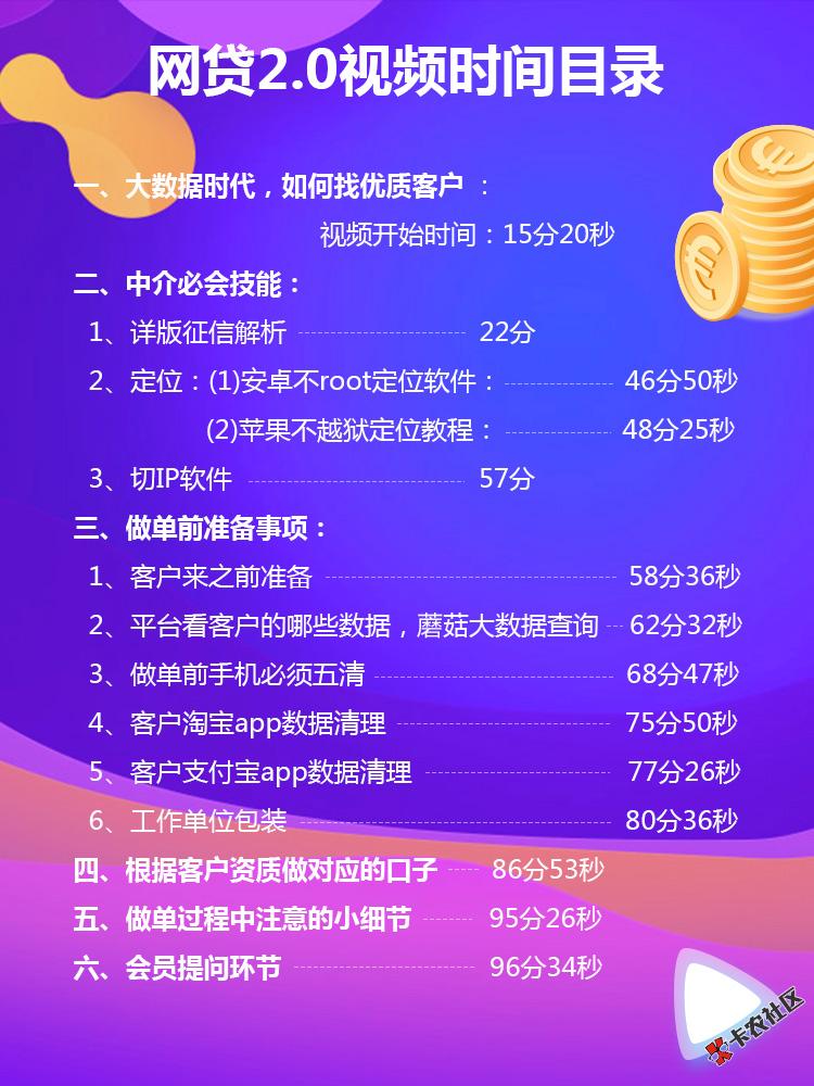 小白中介做网贷技术2.084 / 作者:卡农社区主编 /